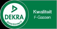 Dekra gecertificeerd kwaliteit F-gassen