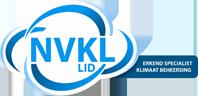 NVKL lid erkend specialist klimaat beheersing - PED gecertificeerd